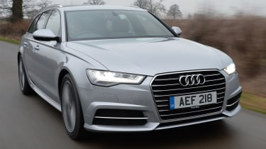 The A6 Avant is the largest estate in Audi's range, as there's no estate version of the A8 luxury saloon