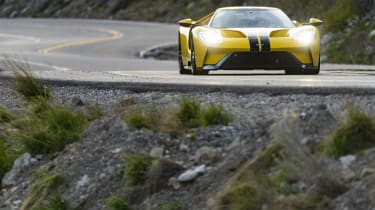 This latest Ford GT is strictly cutting edge