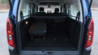 Citroen Berlingo MPV split folding seats