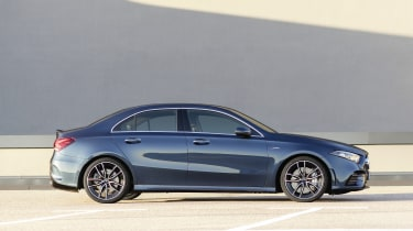 Mercedes-AMG A 35 Saloon side static