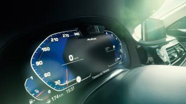 Alpina B7 digital dials