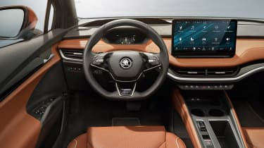 2021 Skoda Enyaq iV - interior and dashboard
