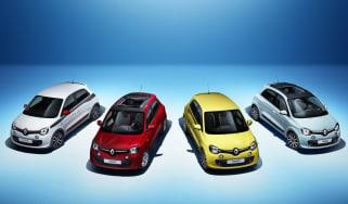 Renault Twingo 2014 hatchback range