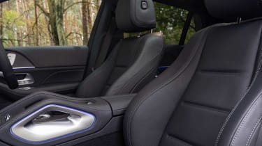 Mercedes GLE SUV Coupe front seats