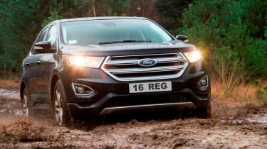 The Edge is Ford's flagship SUV and the entry-level model starts at £29,995, with the range-topper coming in at £36,745.