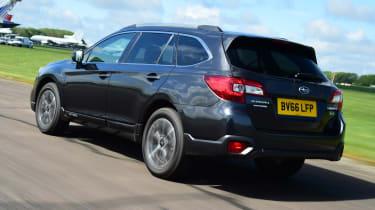 Subaru Outback - rear 3/4 view