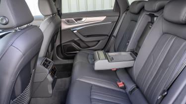 Audi A6 Allroad quattro estate rear seats