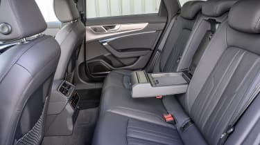 Audi A6 Allroad quattro estate rear seats
