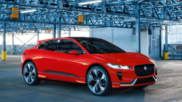 """Jaguar I-Pace will be a  """"long-distance sprinter"""" with a 300 range and a 0-60mph time of around four seconds"""