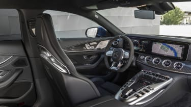 Mercedes-AMG GT 63 interior front, wide view
