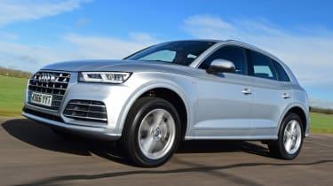 Audi Q5 S line front
