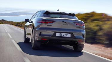 2020 Jaguar I-Pace - rear dynamic view
