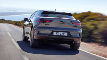 2020 Jaguar I-Pace - rear dynamic view
