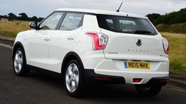 The Tivoli can be specified with an automatically-activated four-wheel drive system