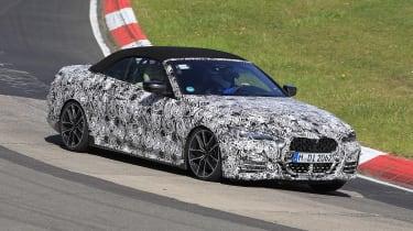 BMW 4 Series Convertible at the Nurburgring