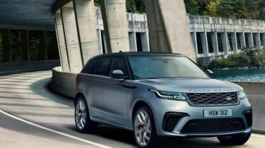 Range Rover Velar SVAutobiography Dynamic Edition tracking