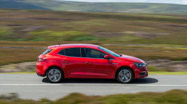 The Renault has plenty of rivals including the Vauxhall Astra, VW Golf and Honda Civic