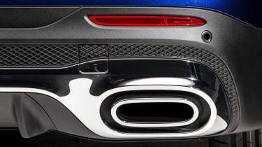 2019 Mercedes GLB - exhaust