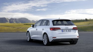Audi's classy A3 Sportback is available in plug-in hybrid 'e-tron' form