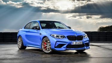BMW M2 CS parked