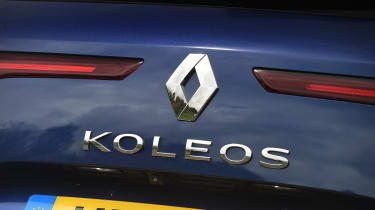 Emissions as low as 128g/km of CO2 make the Koleos quite affordable for company-car drivers