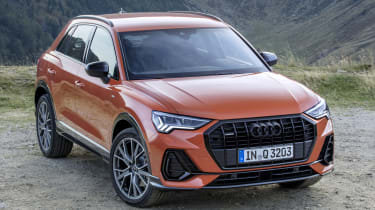 The latest Audi Q3 has a more purposeful stance than the model it replaced.