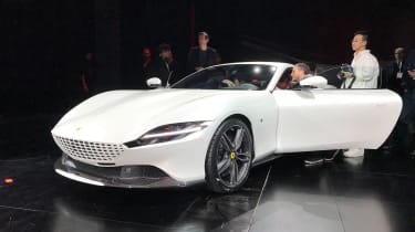 Ferrari Roma in white