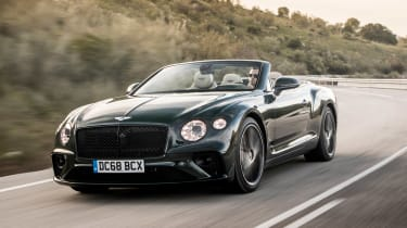 Bentley Continental GT Convertible nose tracking