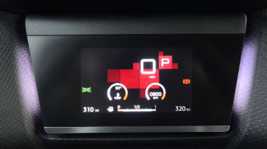 Citroen C4 hatchback screen