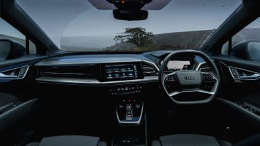 Audi Q4 e-tron SUV interior