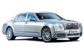 Bentley Mulsanne cutout