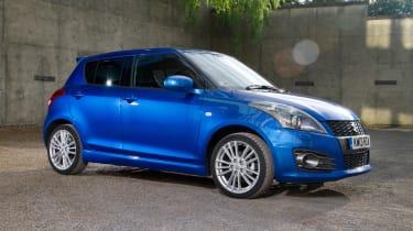 suzuki swift sport five door hatchback 2013 front right