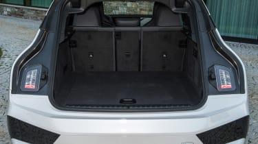 BMW iX SUV boot
