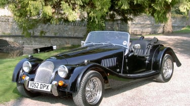 Taking a Morgan Plus 8 to a country house hotel came a close second in our poll