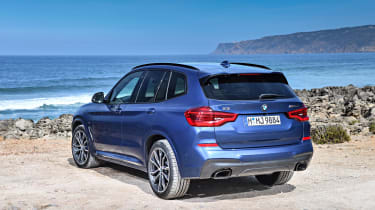 If you're not satisfied with the X3's generous equipment level, you can add from a long list of optional extras, including a panoramic sunroof and Harman-Kardon stereo.