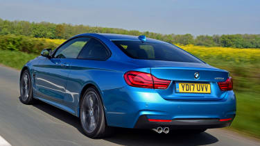 BMW 420d M Sport rear