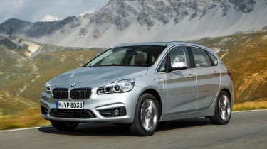 The BMW 225xe iPerformance Active Tourer is a plug-in hybrid MPV with five seats