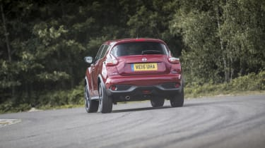 MPG and CO2 emissions aren't too bad for the Juke, but if economy is what you're after, then the 1.6-litre diesel model is the one to go for, boasting CO2 emissions of just 98g/km and average fuel economy of 74.3mpg.