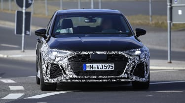 2021 Audi RS3 prototype front end