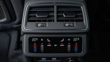 Audi A6 Allroad quattro estate rear climate control