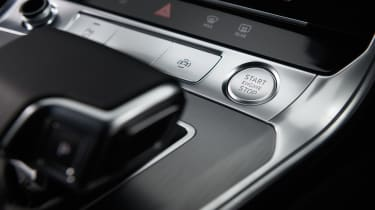 Audi A7 Sportback hatchback start stop button