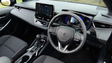 Suzuki Swace estate steering wheel