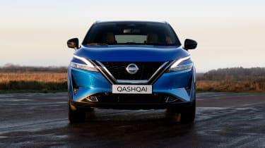 New Nissan Qashqai front end
