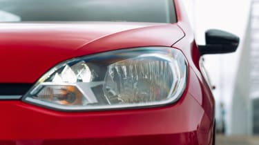 Volkswagen up! hatchback headlight