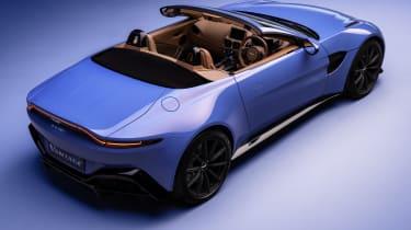 2020 Aston Martin Vantage Roadster - rear 3/4 view
