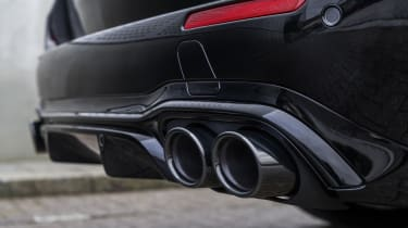 Facelifted Mercedes-AMG E53 exhausts