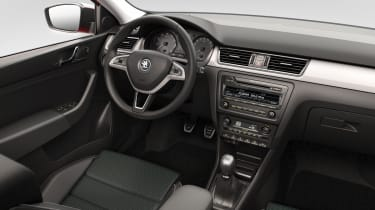 Skoda Rapid Spaceback hatchback 2013 interior