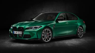 2021 BMW M3 Competition saloon - front 3/4 static