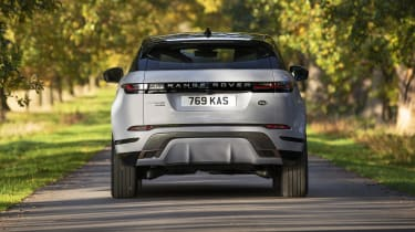 Range Rover Evoque P300e rear end