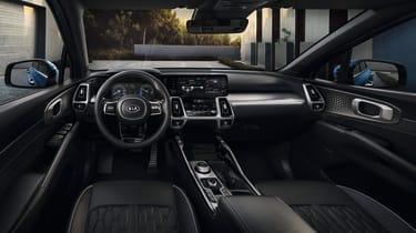 2020 Kia Sorento SUV plug-in hybrid - interior